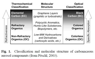 carbonaceous aerosol